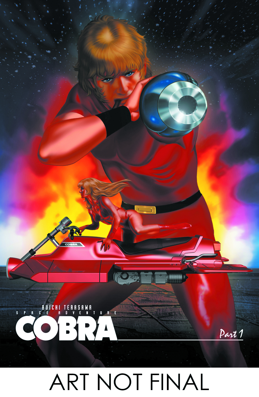 SPACE ADVENTURE COBRA DVD PT 01