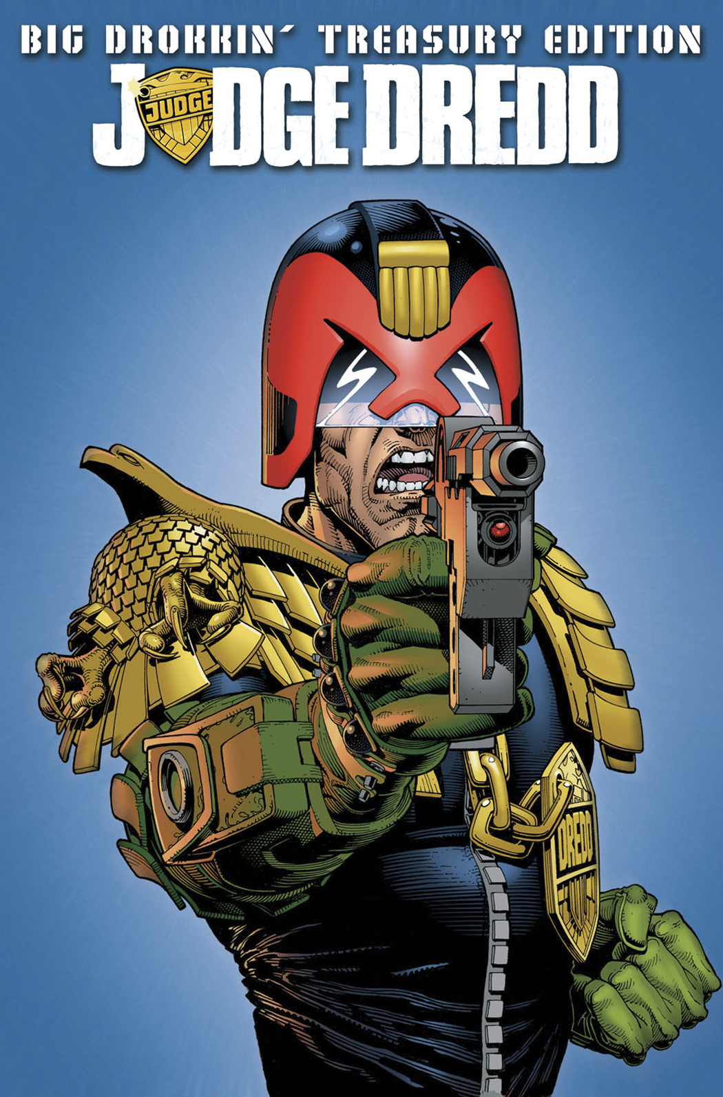 JUDGE DREDD BIG DROKKIN TREASURY ED