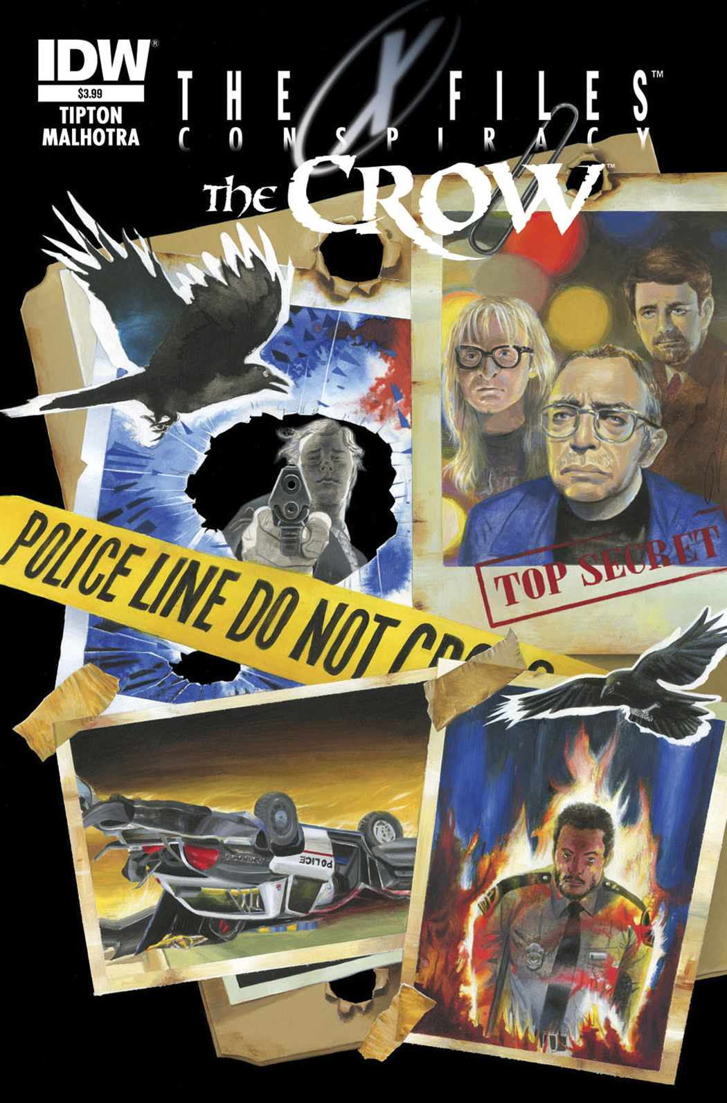 X-FILES CONSPIRACY CROW #1 FREE 25 COPY INCV