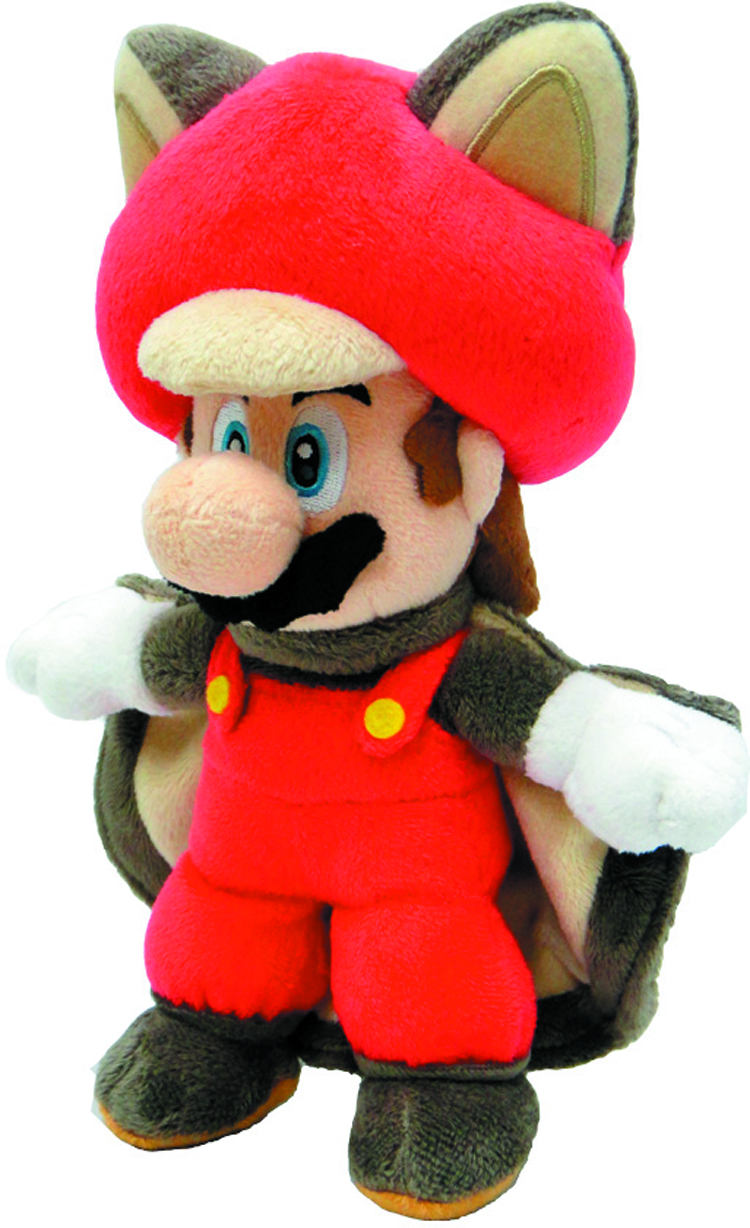 SUPER MARIO BROS FLYING SQUIRREL MARIO 9IN PLUSH