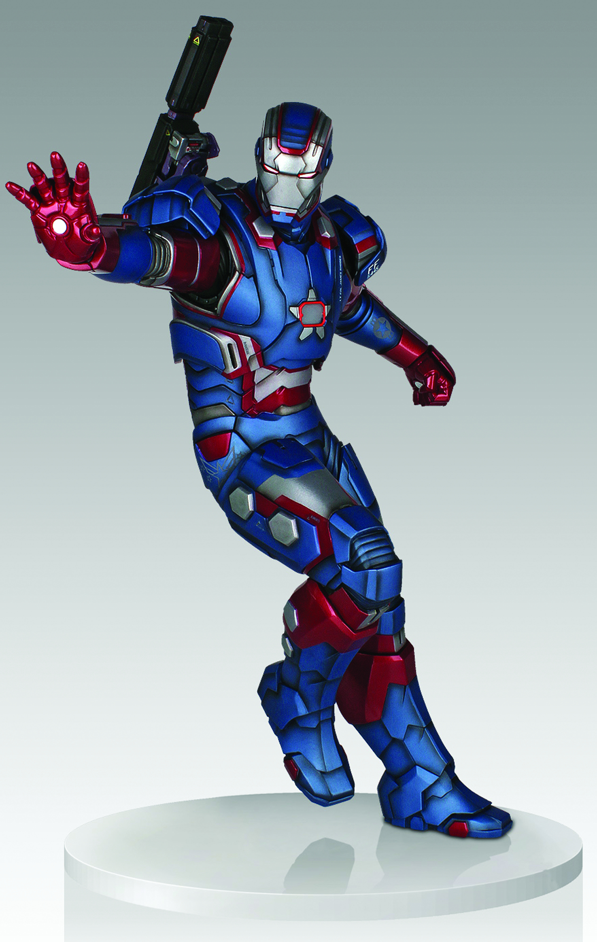 GENTLE GIANT IRON PATRIOT 1/4 SCALE STATUE