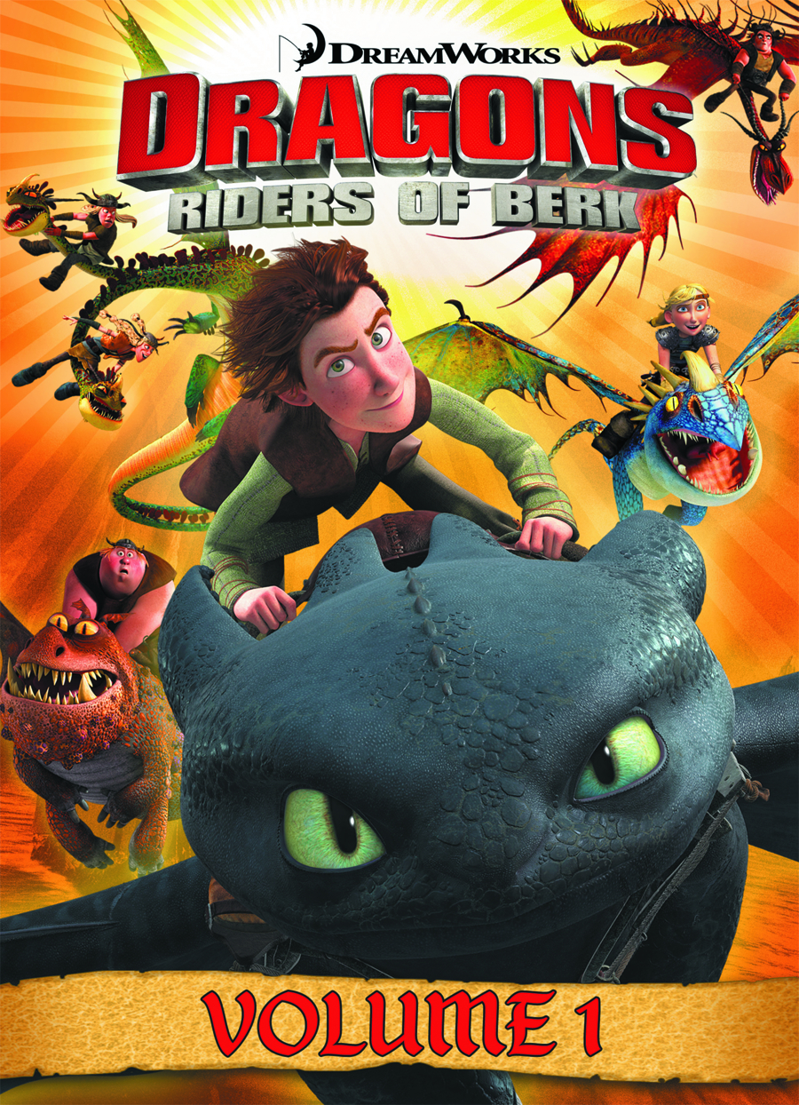 DRAGONS RIDERS OF BERK GN VOL 01
