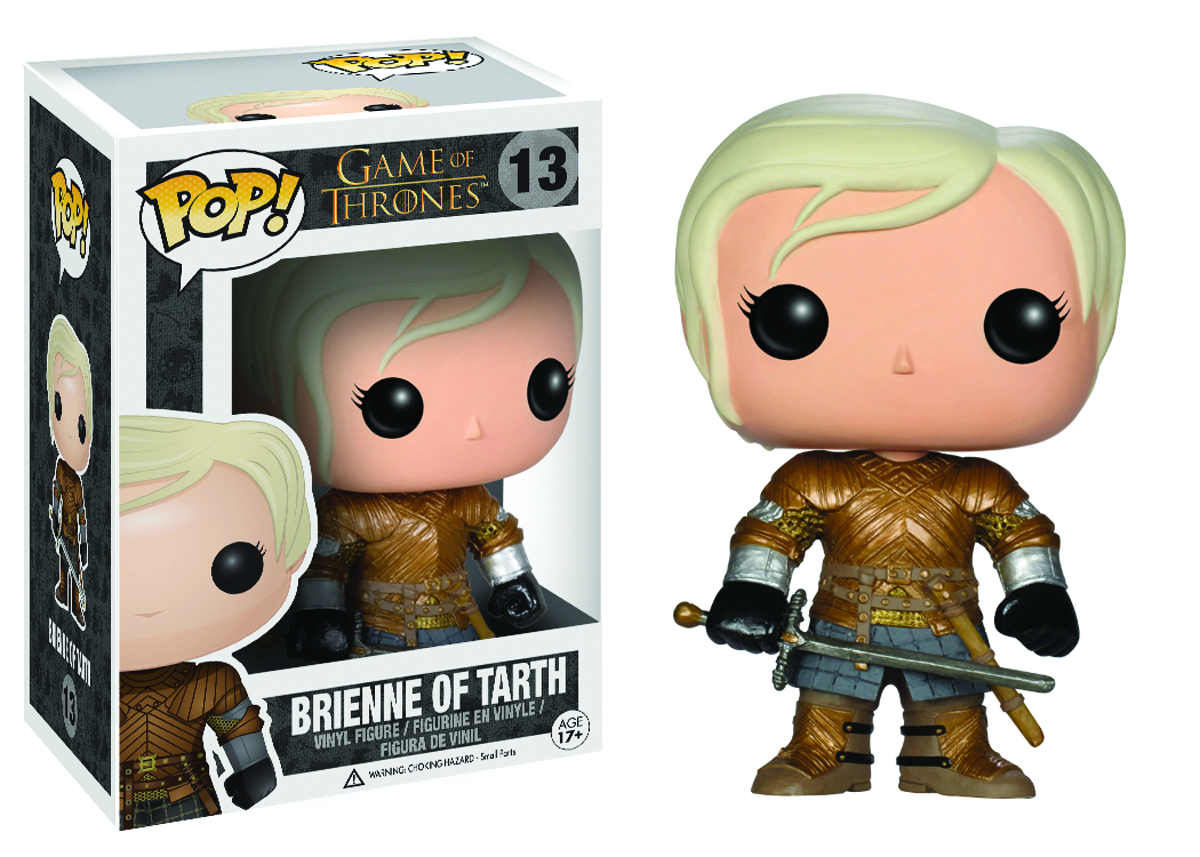 POP GAME OF THRONES BRIENNE VINYL FIG
