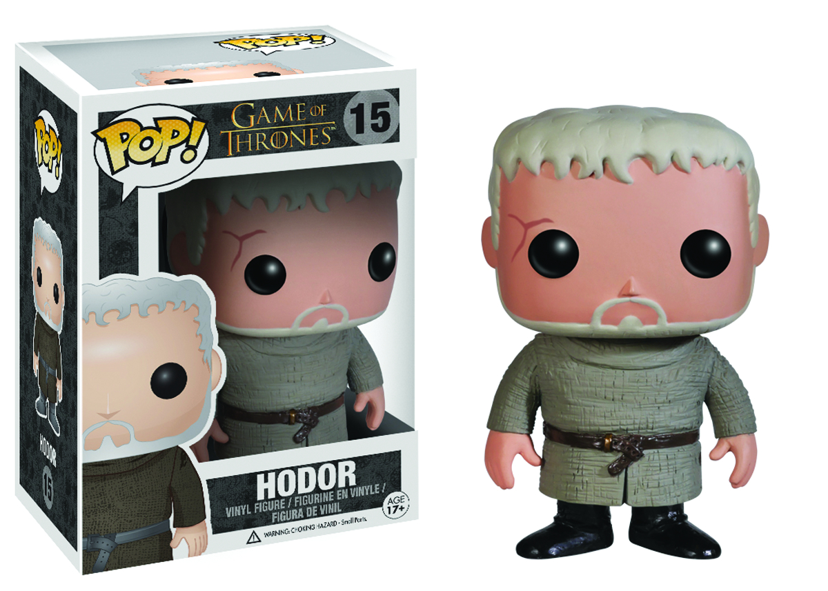 POP GAME OF THRONES HODOR VINYL FIG