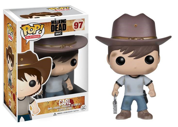 POP WALKING DEAD CARL VINYL FIG