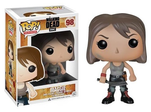 POP WALKING DEAD MAGGIE VINYL FIG