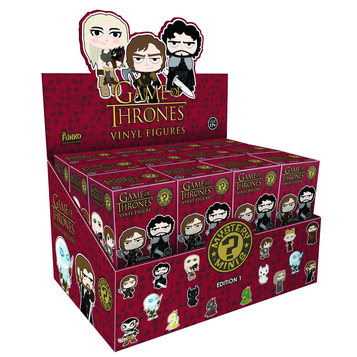 GAME OF THRONES MYSTERY MINIS 24PC BMB DS