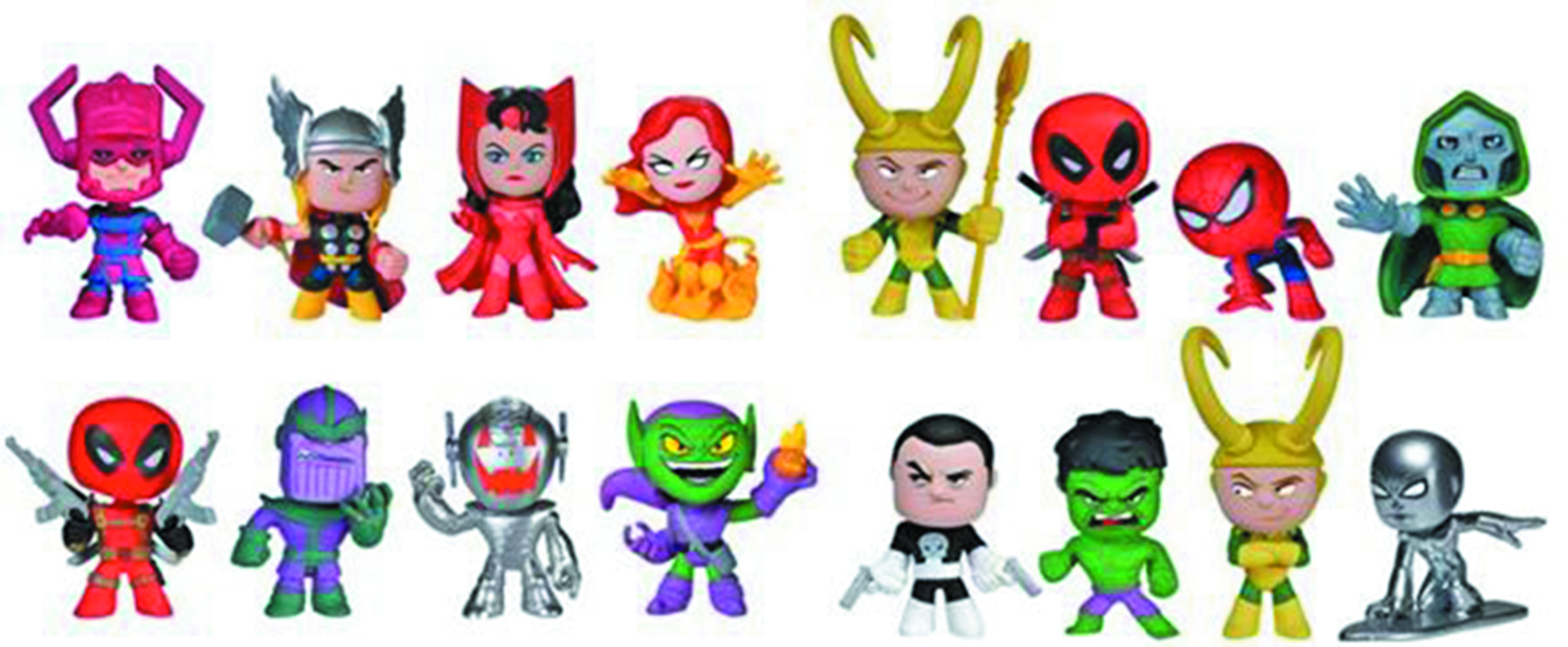 MYSTERY MINIS MARVEL COMICS 24PC BMB DS