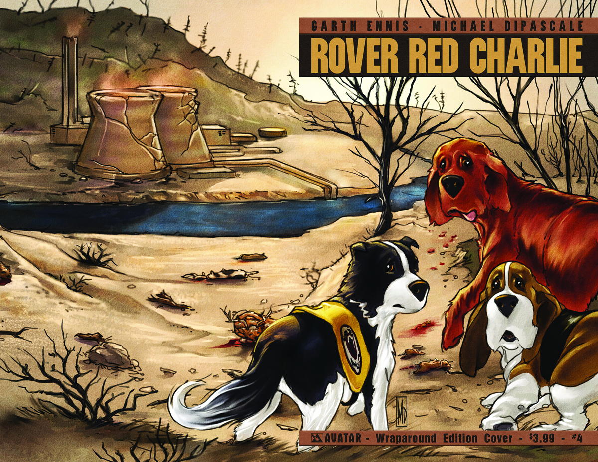 ROVER RED CHARLIE #4 (OF 6) WRAP CVR