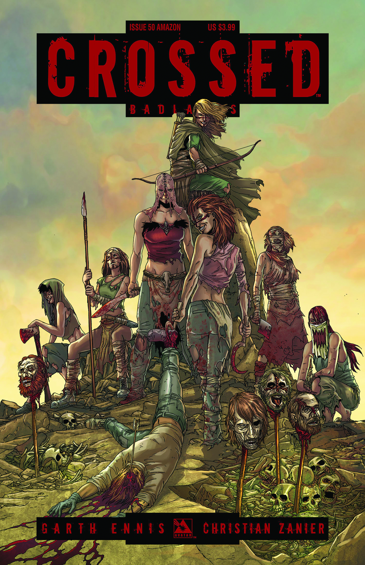 CROSSED BADLANDS #50 AMAZONS CVR