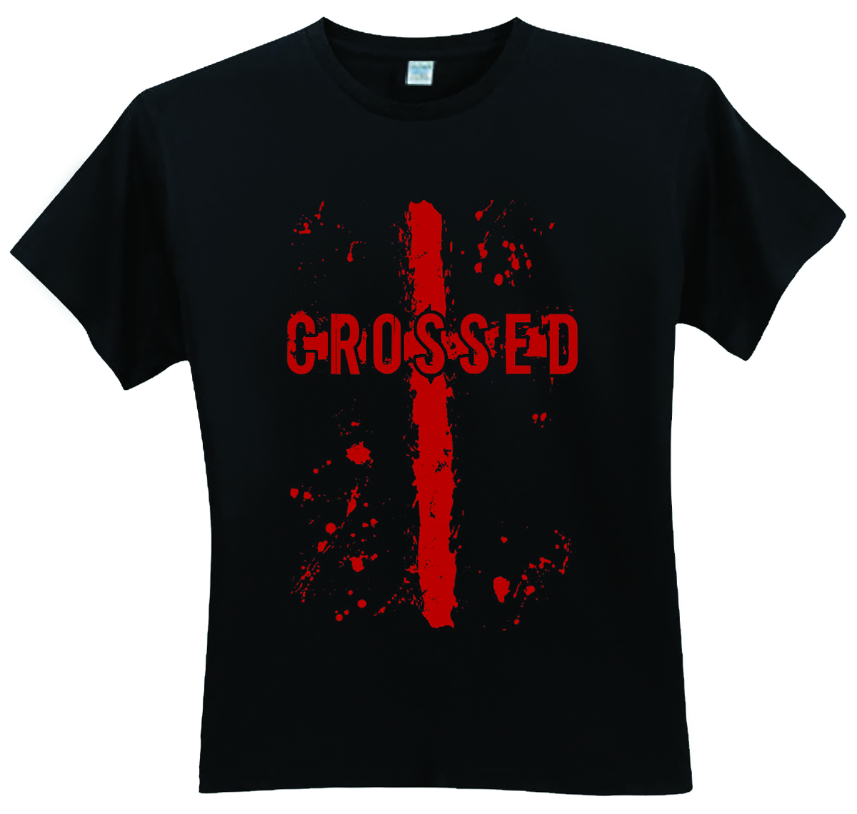 CROSSED LOGO T/S XL