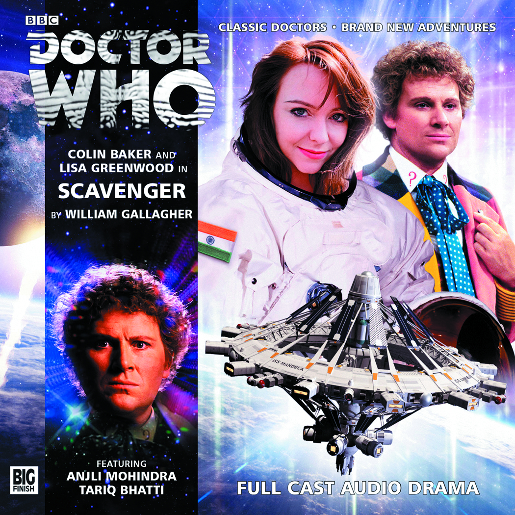 DOCTOR WHO SCAVENGER AUDIO CD