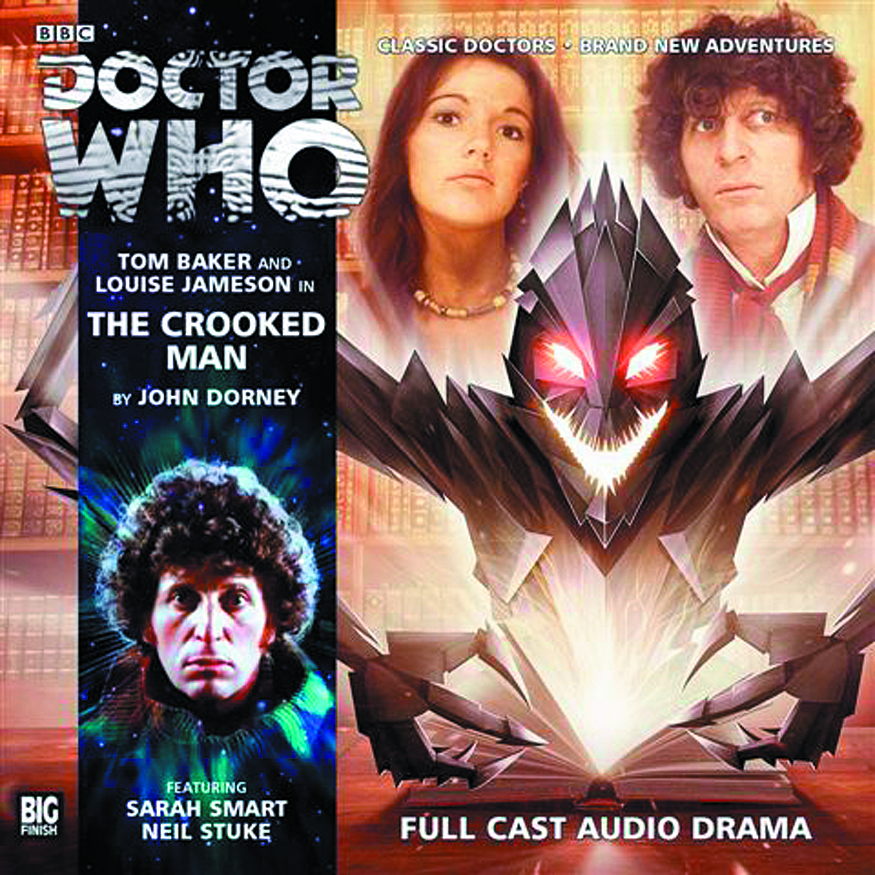 DOCTOR WHO CROOKED MAN AUDIO CD