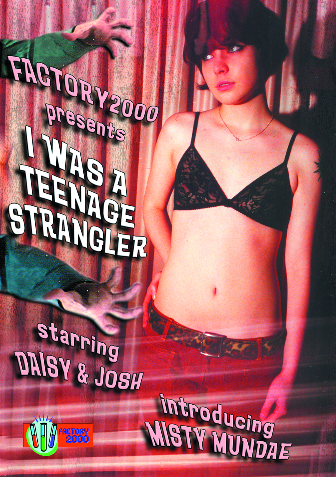 I WAS A TEENAGE STRANGLER DVD