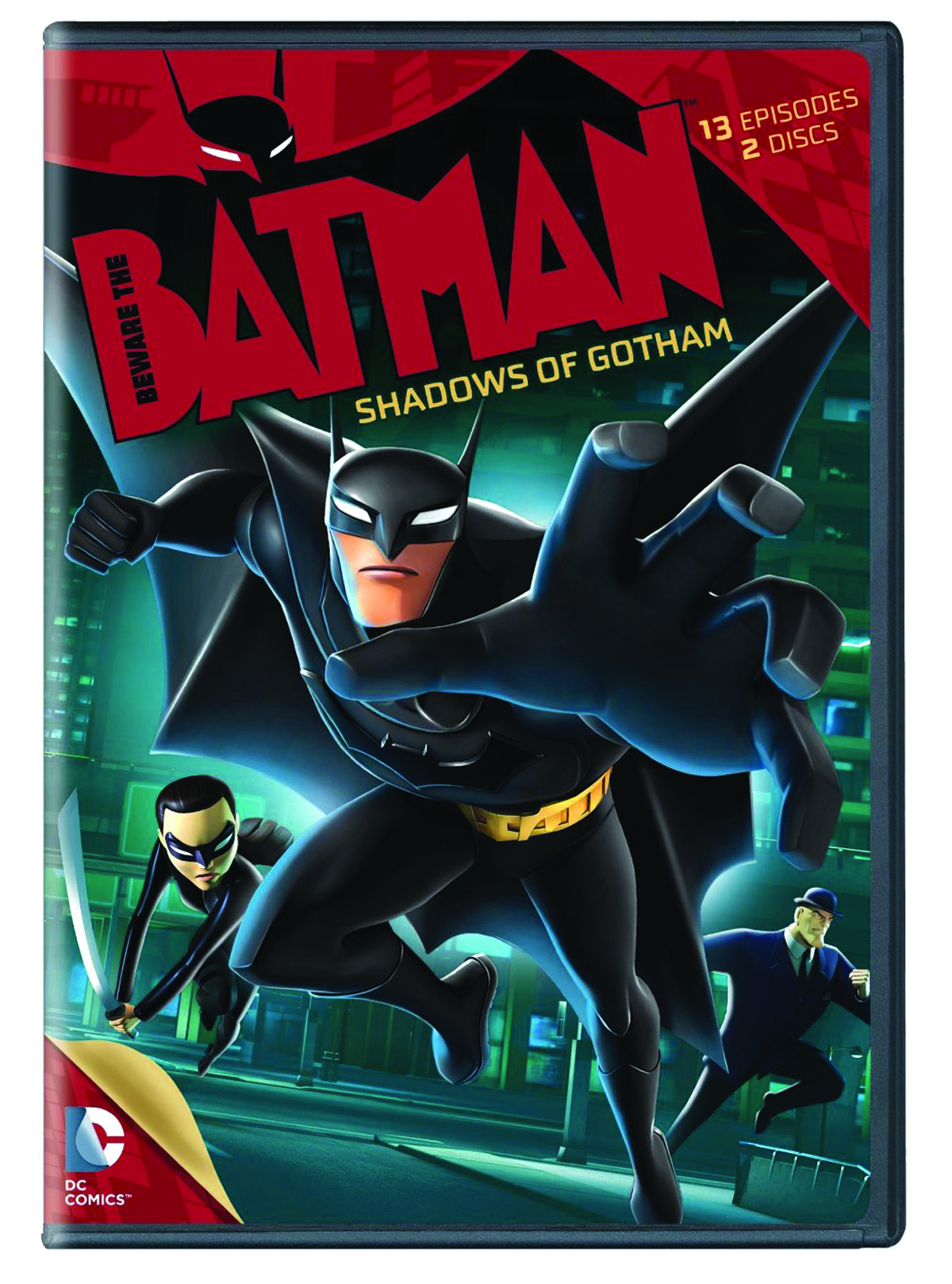 BEWARE THE BATMAN DVD SEA 01 PT 01