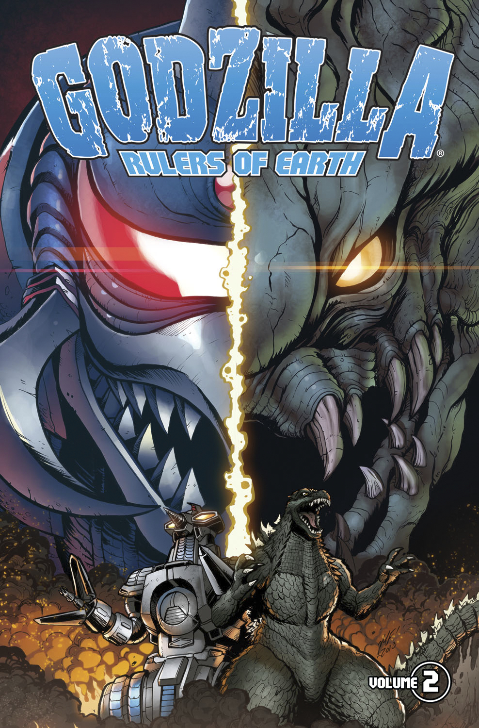 GODZILLA RULERS OF EARTH TP VOL 02