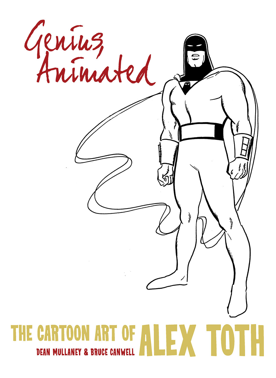 GENIUS ANIMATED CARTOON ART OF ALEX TOTH HC VOL 03