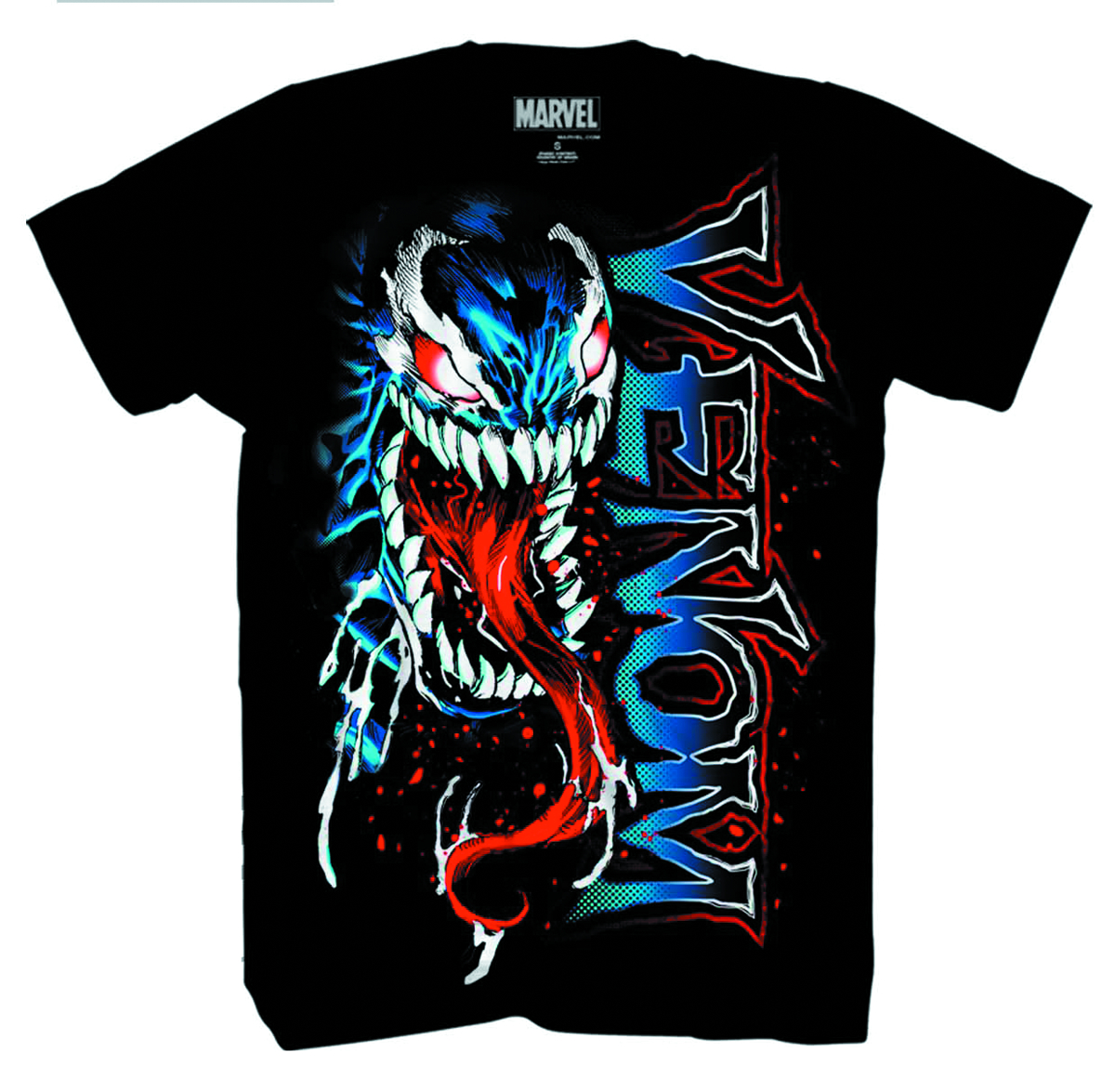 VENOM FACE OF BROCK PX BLK T/S XL