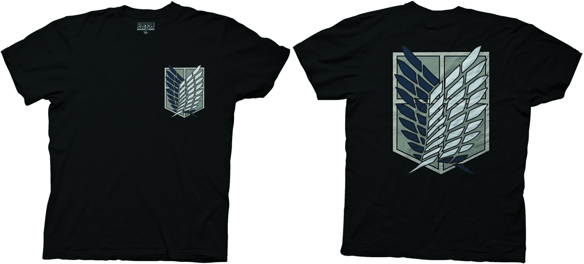 ATTACK ON TITAN SURVEY CORPS T/S MED