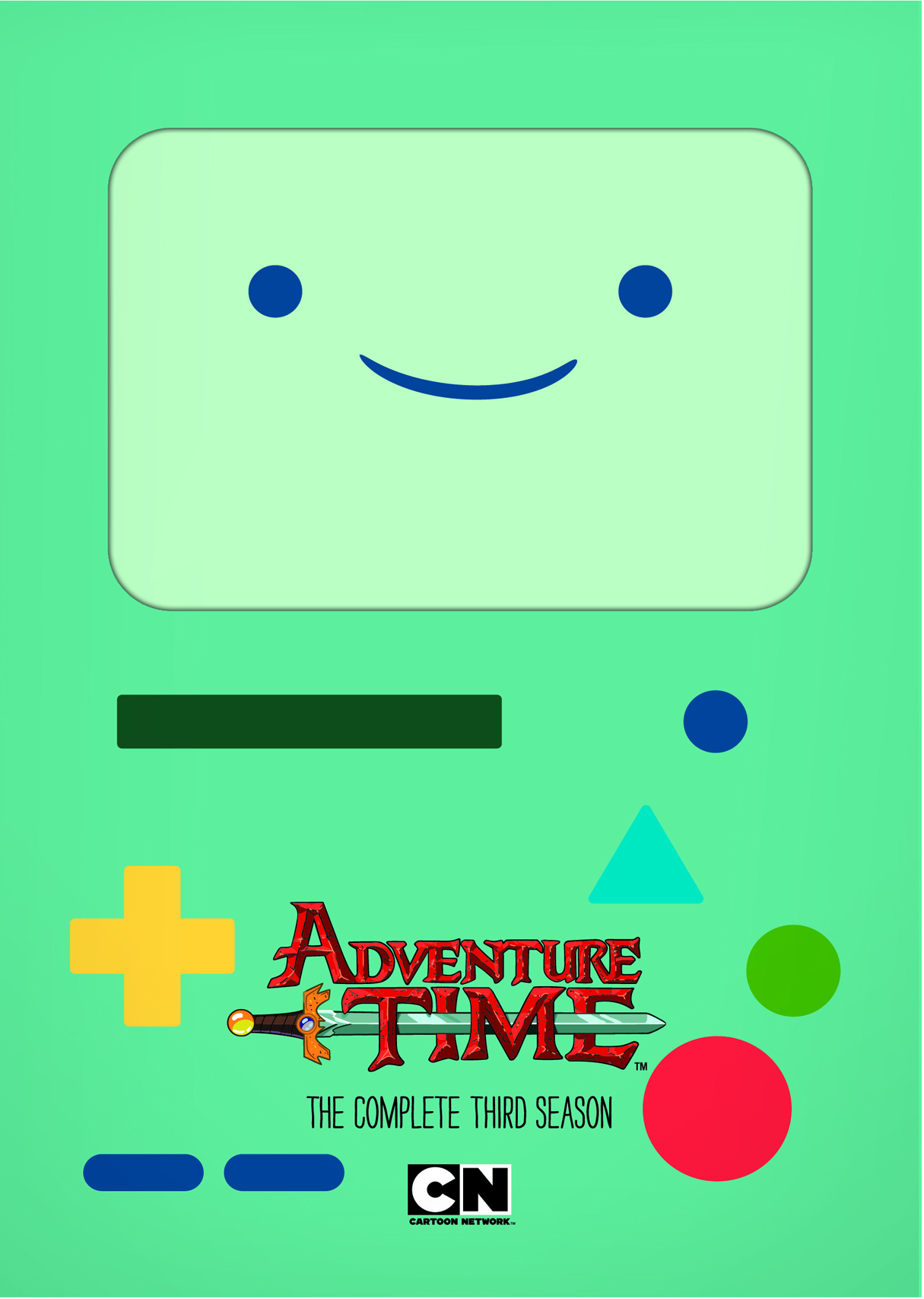 ADVENTURE TIME THIRD SEASON DVD