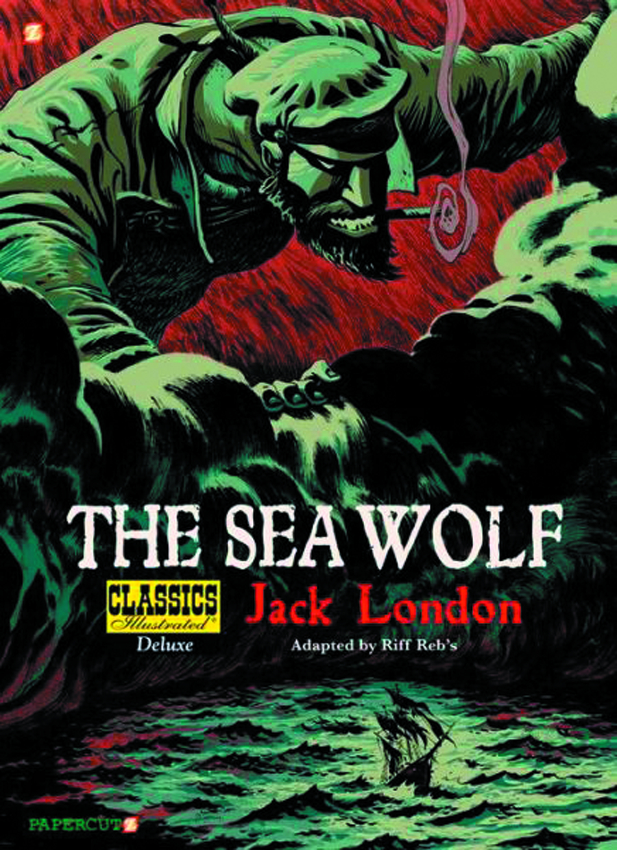 CLASSICS ILLUS DLX SC VOL 11 SEA WOLF