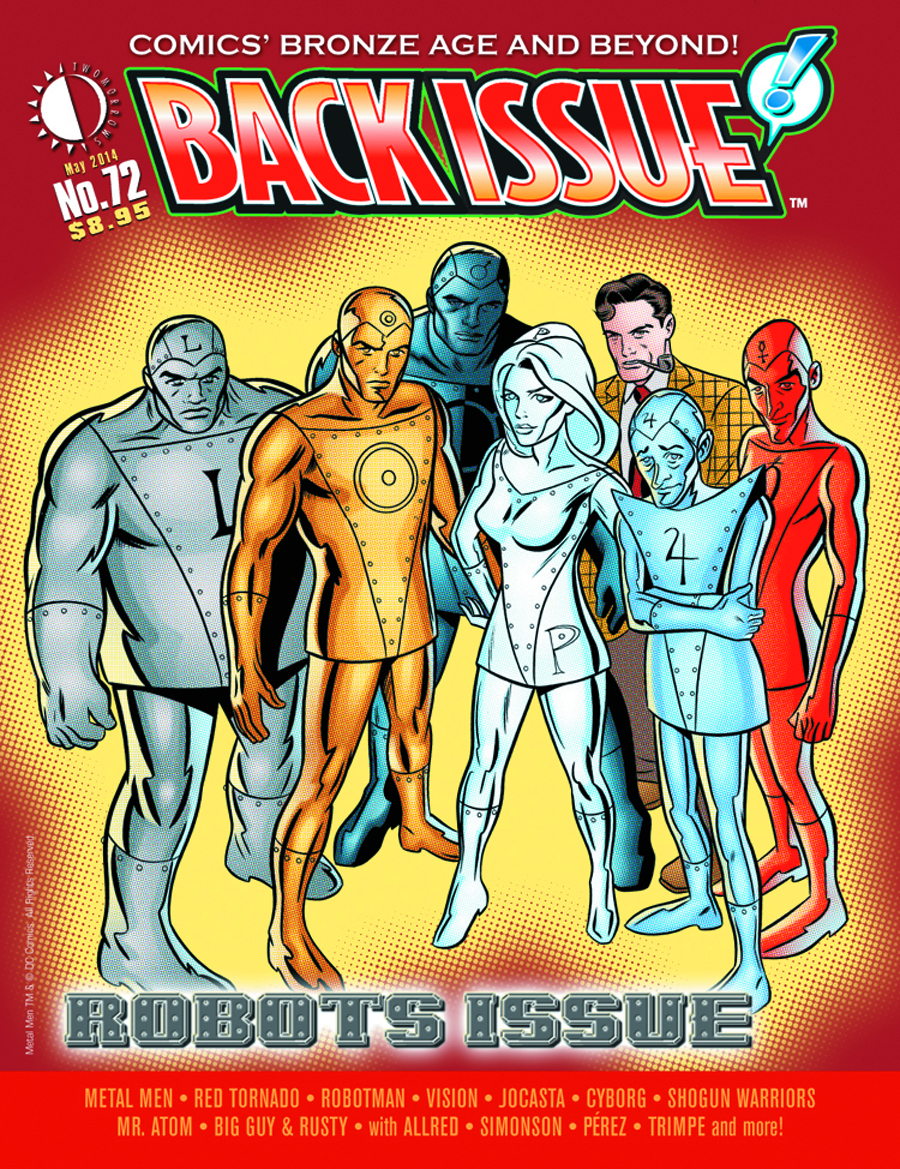 BACK ISSUE #72