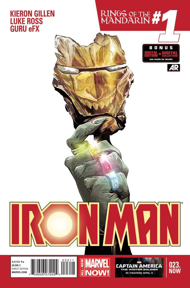 IRON MAN #23.NOW ANMN
