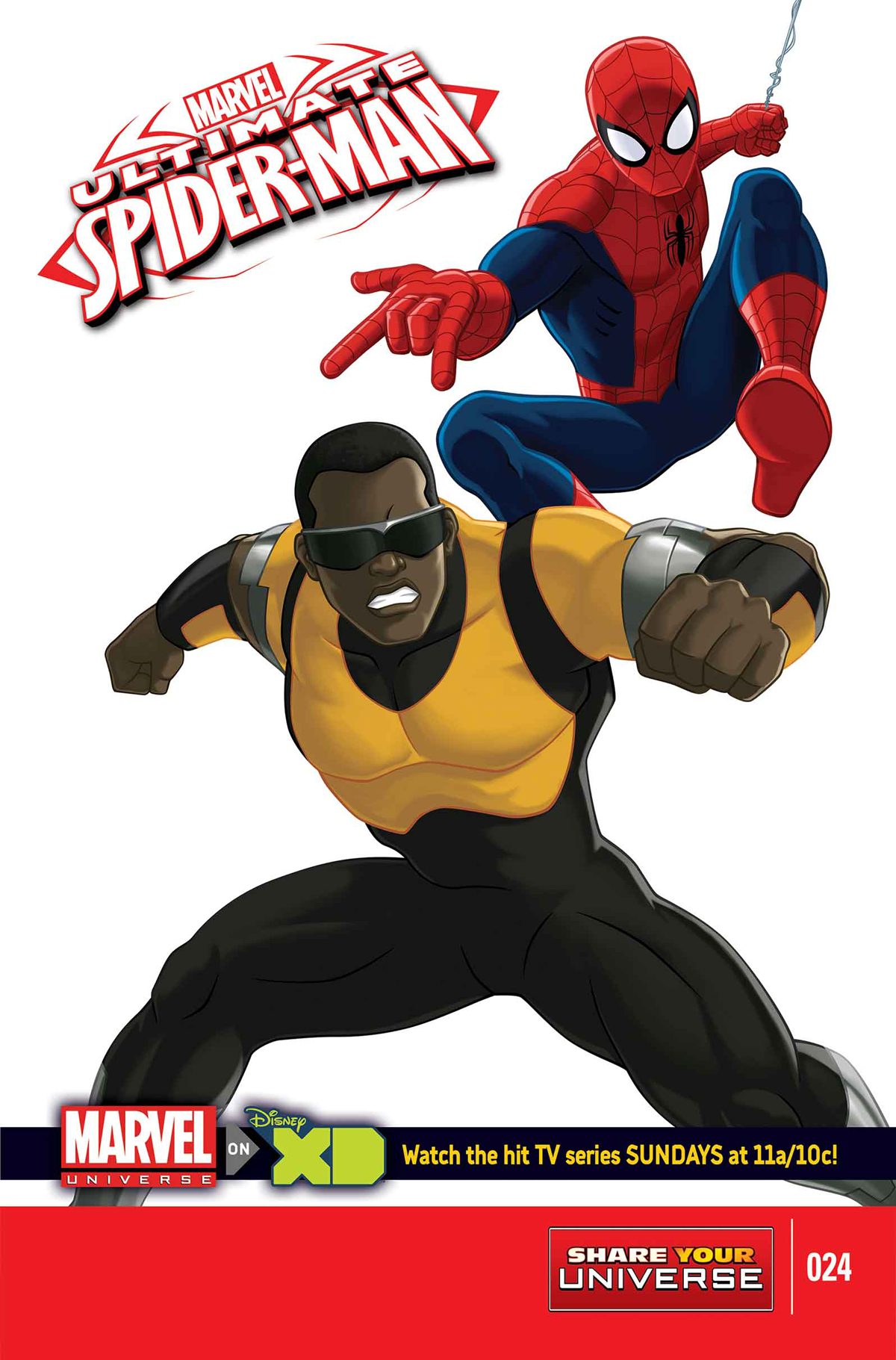 MARVEL UNIVERSE ULTIMATE SPIDER-MAN #24 SYU
