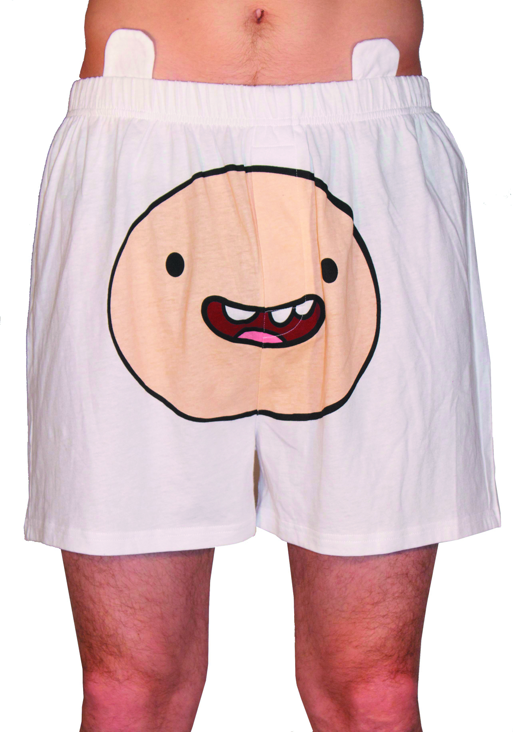 ADV TIME FINN FACE MENS BOXER SHORTS LG