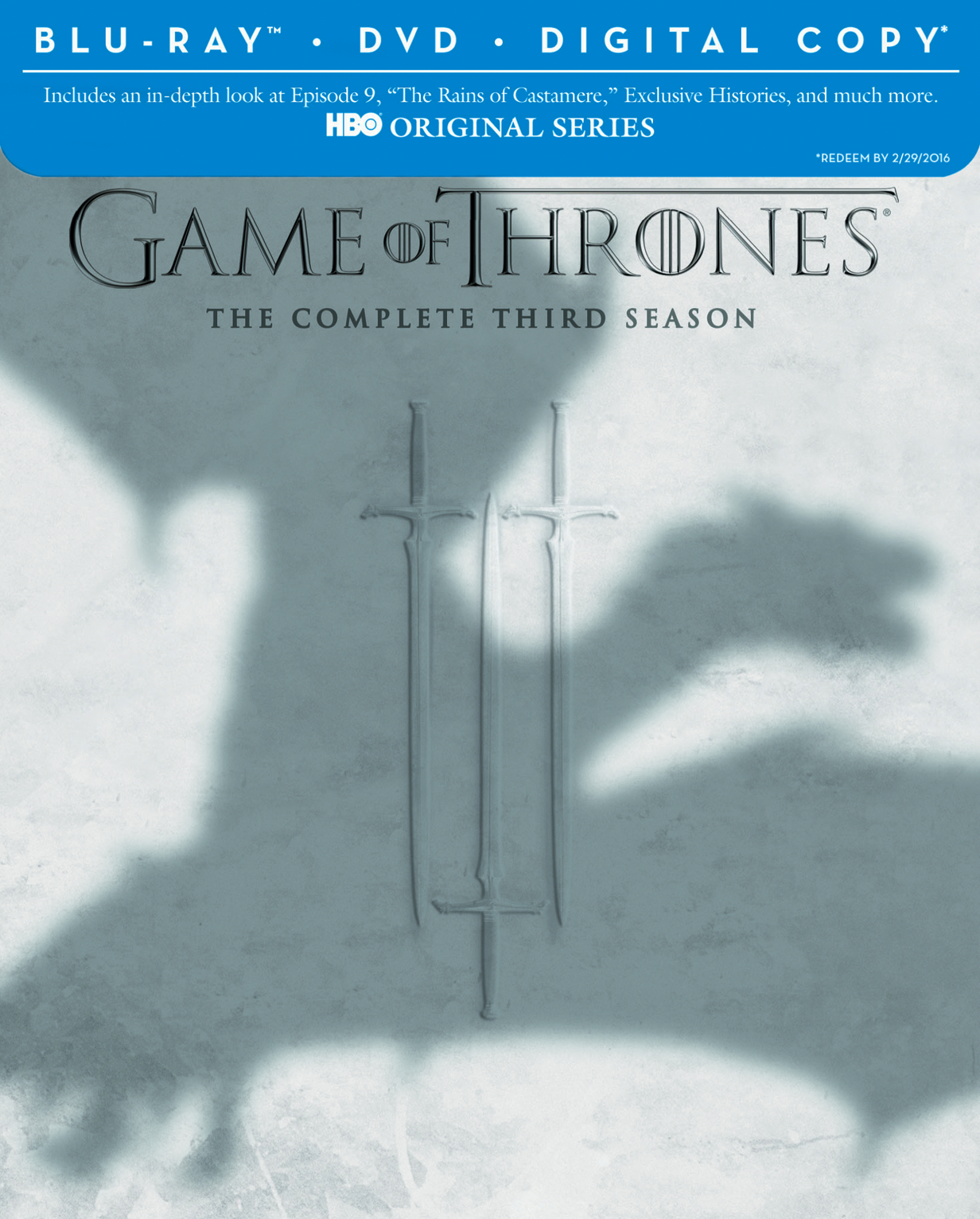 GAME OF THRONES BD + DVD SEA 03