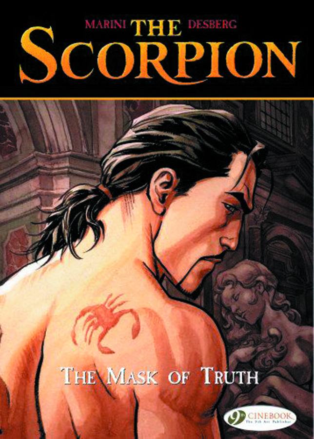 SCORPION GN VOL 07 MASK OF TRUTH