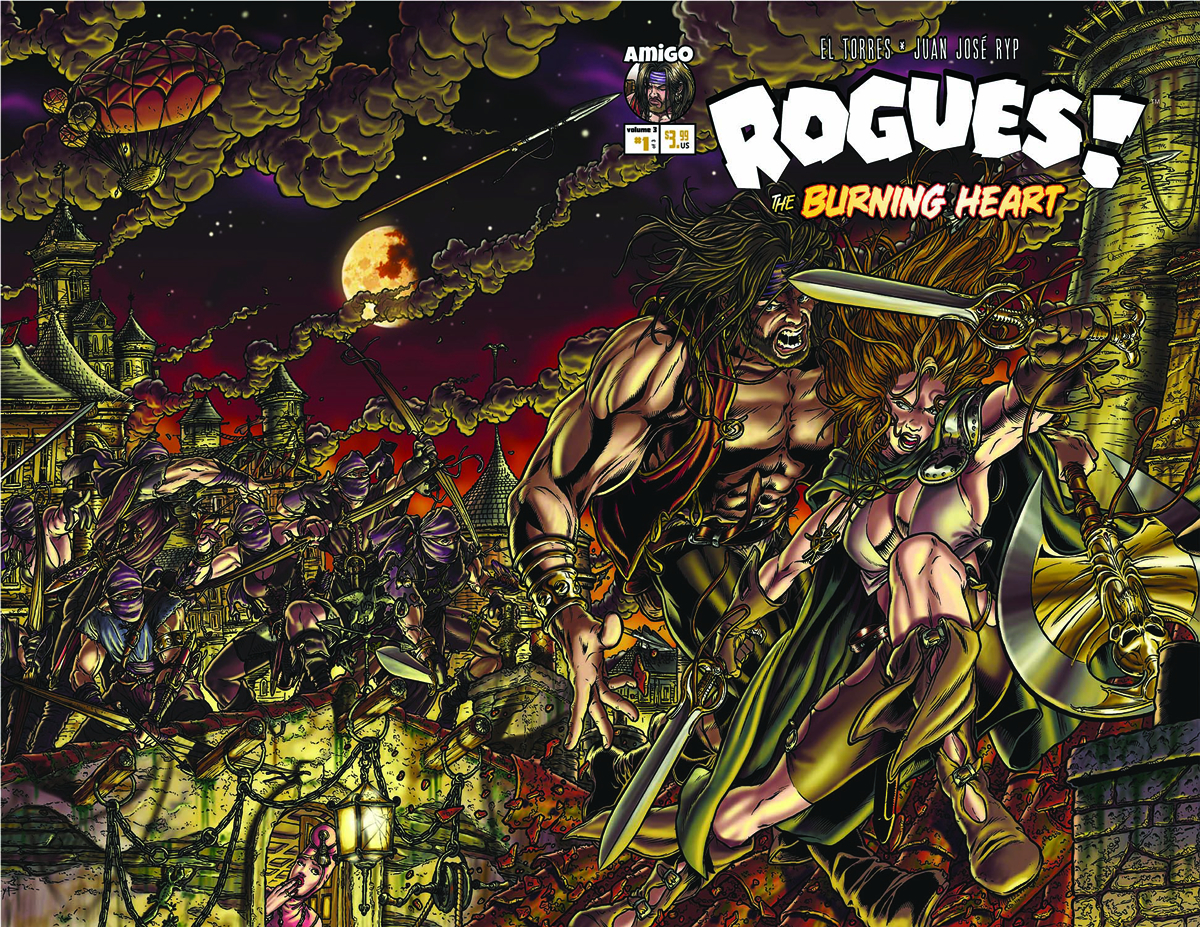 ROGUES THE BURNING HEART #1 (OF 5) (RES)
