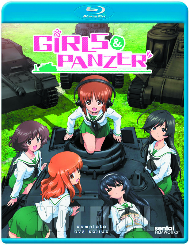 GIRLS UND PANZER OVA SPECIALS BD