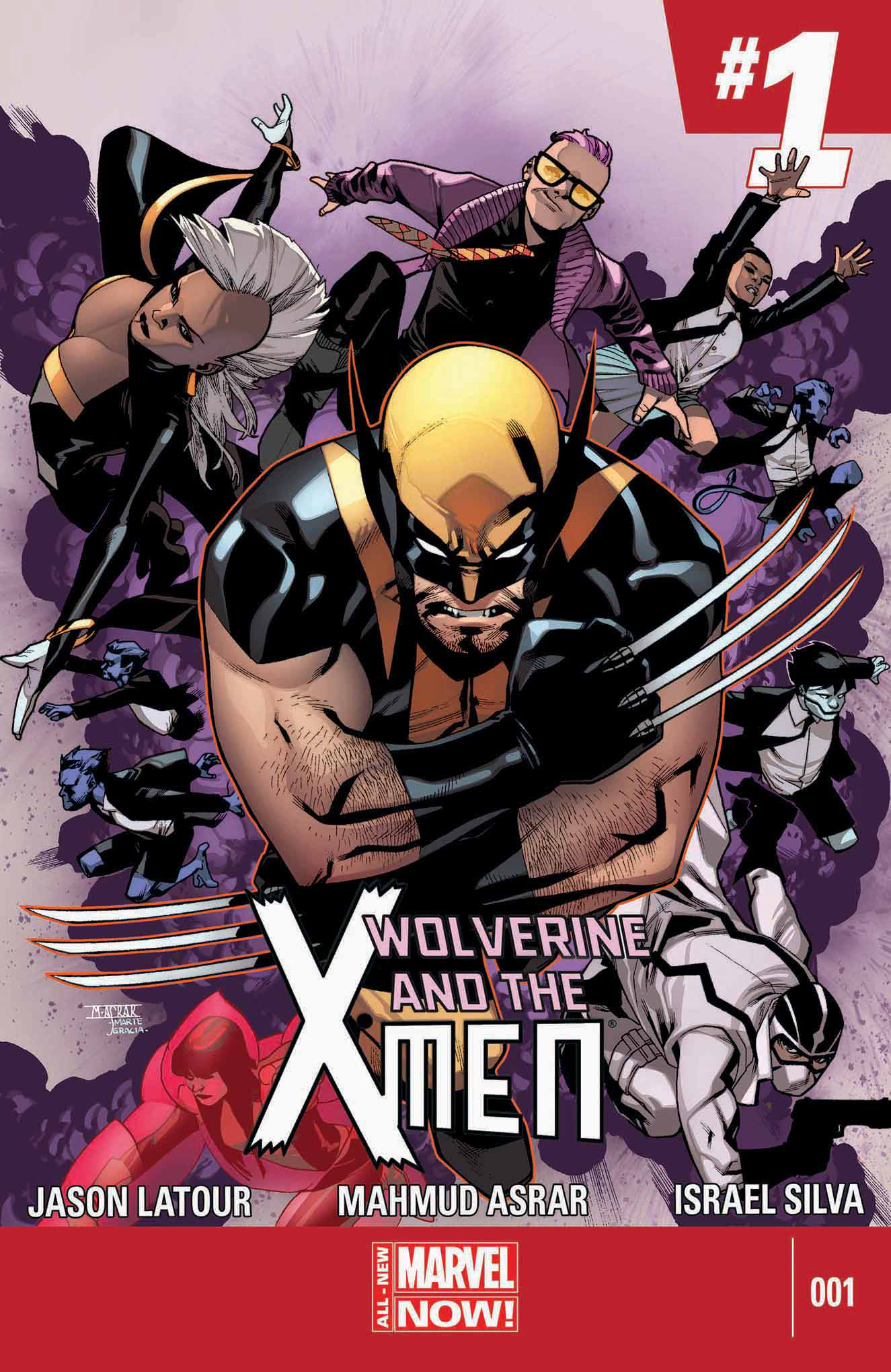 WOLVERINE AND X-MEN #1 ANMN
