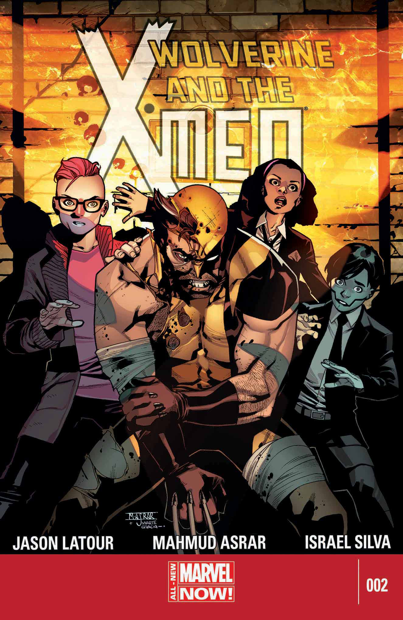WOLVERINE AND X-MEN #2 ANMN