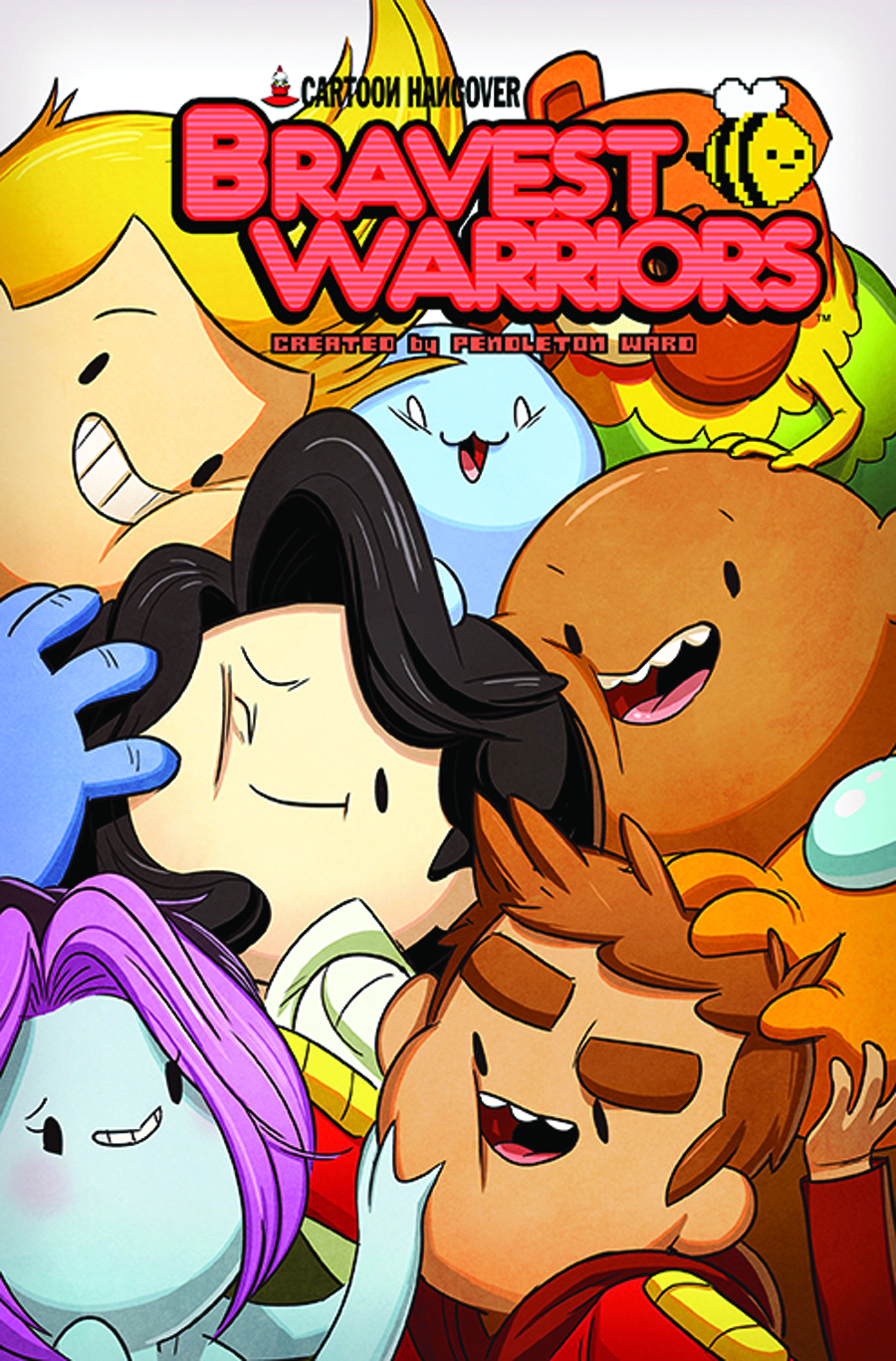 BRAVEST WARRIORS #18 15 COPY INCV ADAMS VAR