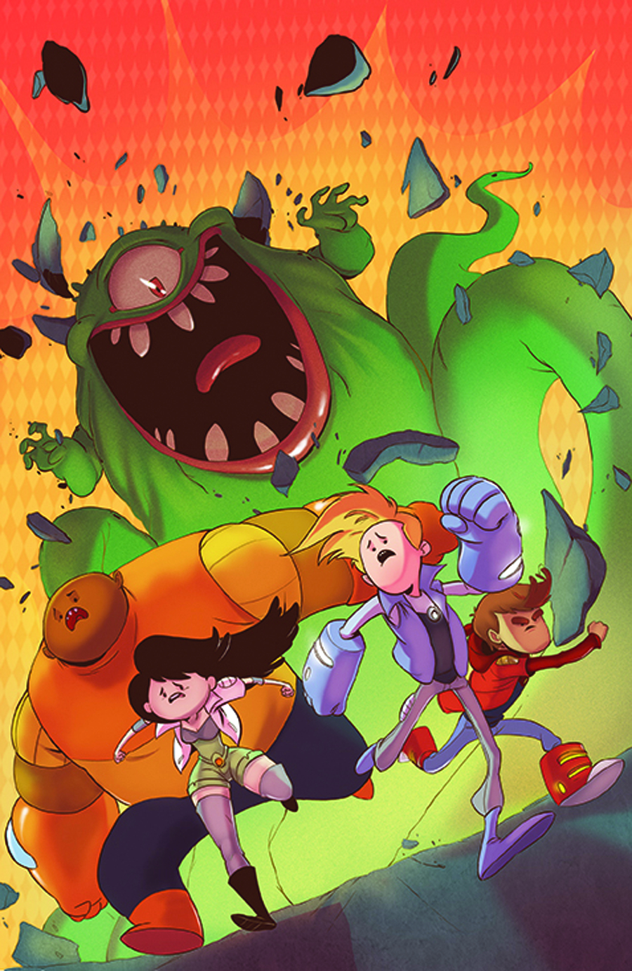 BRAVEST WARRIORS #18 20 COPY INCV LAMBERT VAR