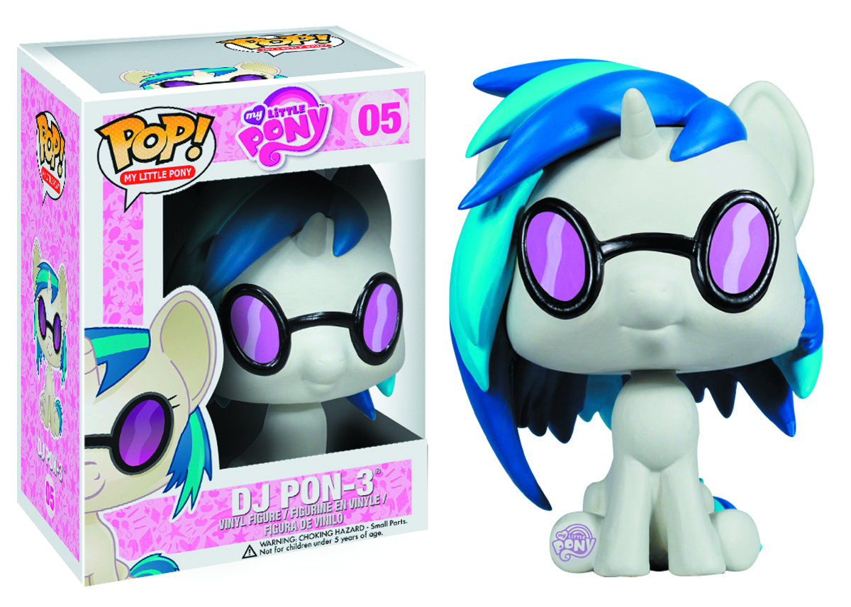POP MLP DJ PON3 VINYL FIG