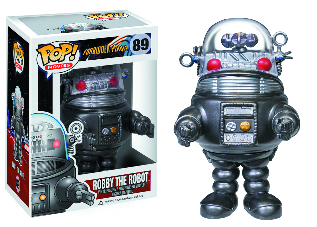 POP ROBOTS ROBBY THE ROBOT VINYL FIG