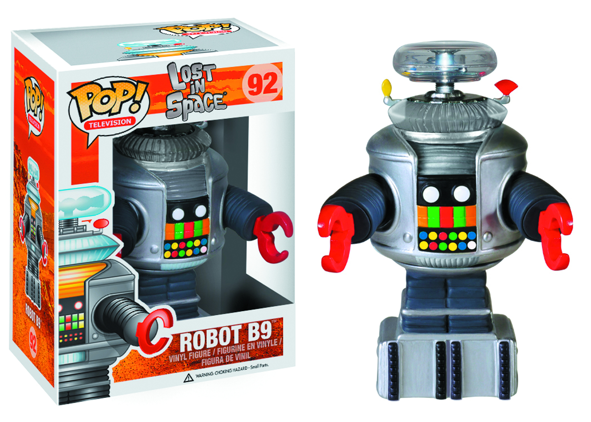 POP ROBOTS B-9 ROBOT VINYL FIG