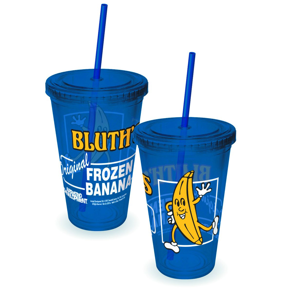 ARRESTED DEVELOPMENT FROZEN BANANA COLD CUP