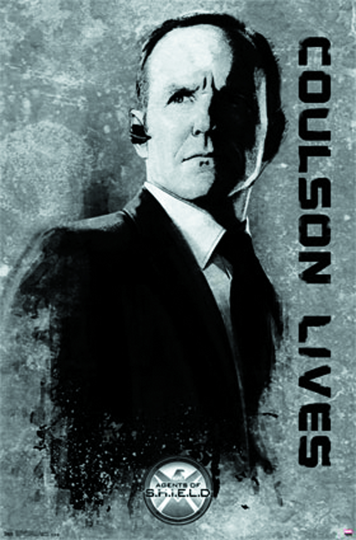 MARVEL AGENTS OF SHIELD COULSON POSTER