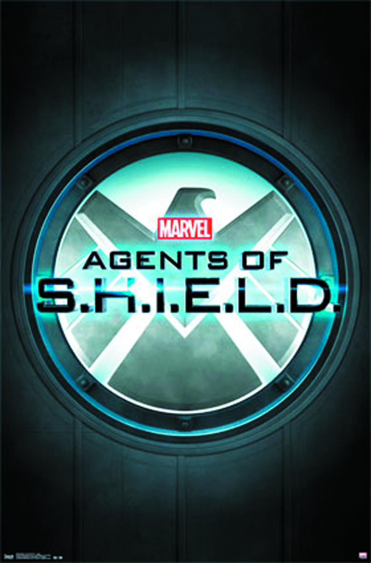 MARVEL AGENTS OF SHIELD LOGO POSTER