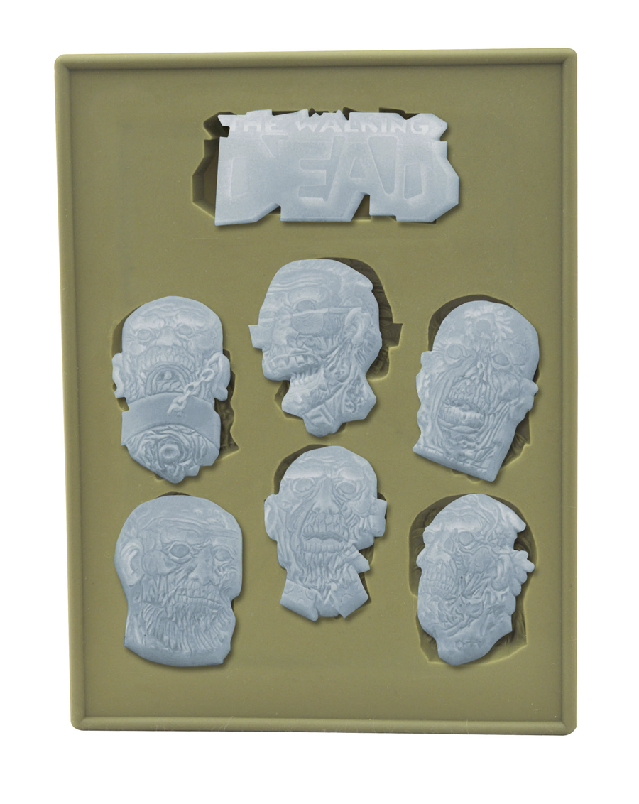 WALKING DEAD SILICONE TRAY 2