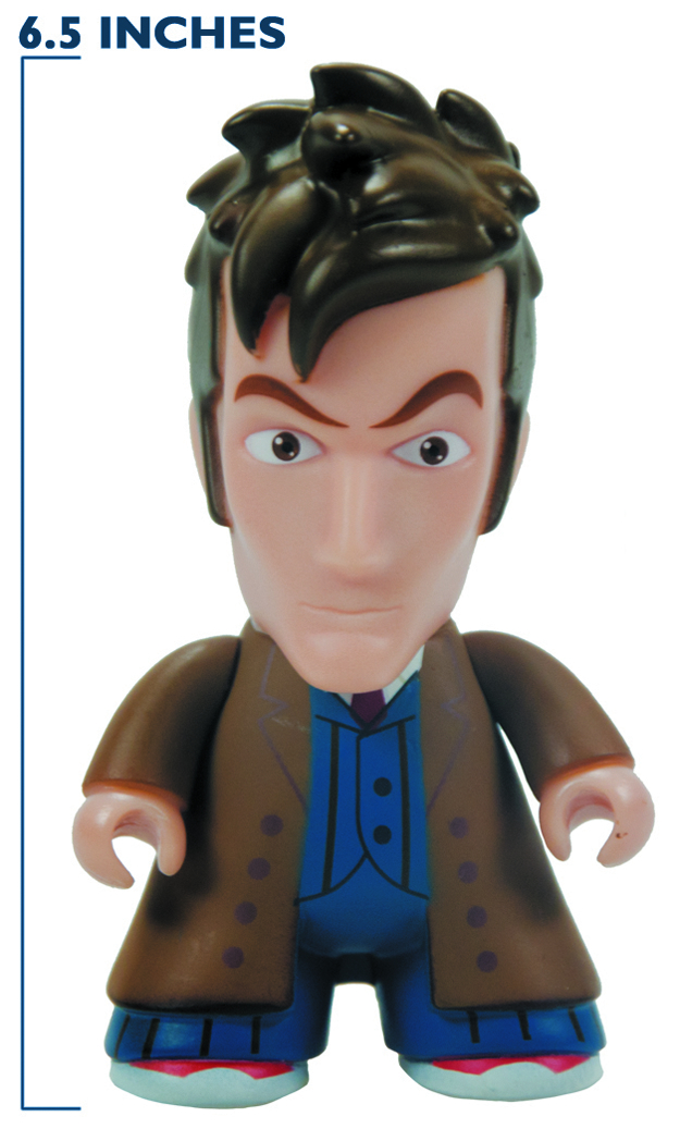 DOCTOR WHO TITANS 10TH DOCTOR 6.5IN VINYL FIG