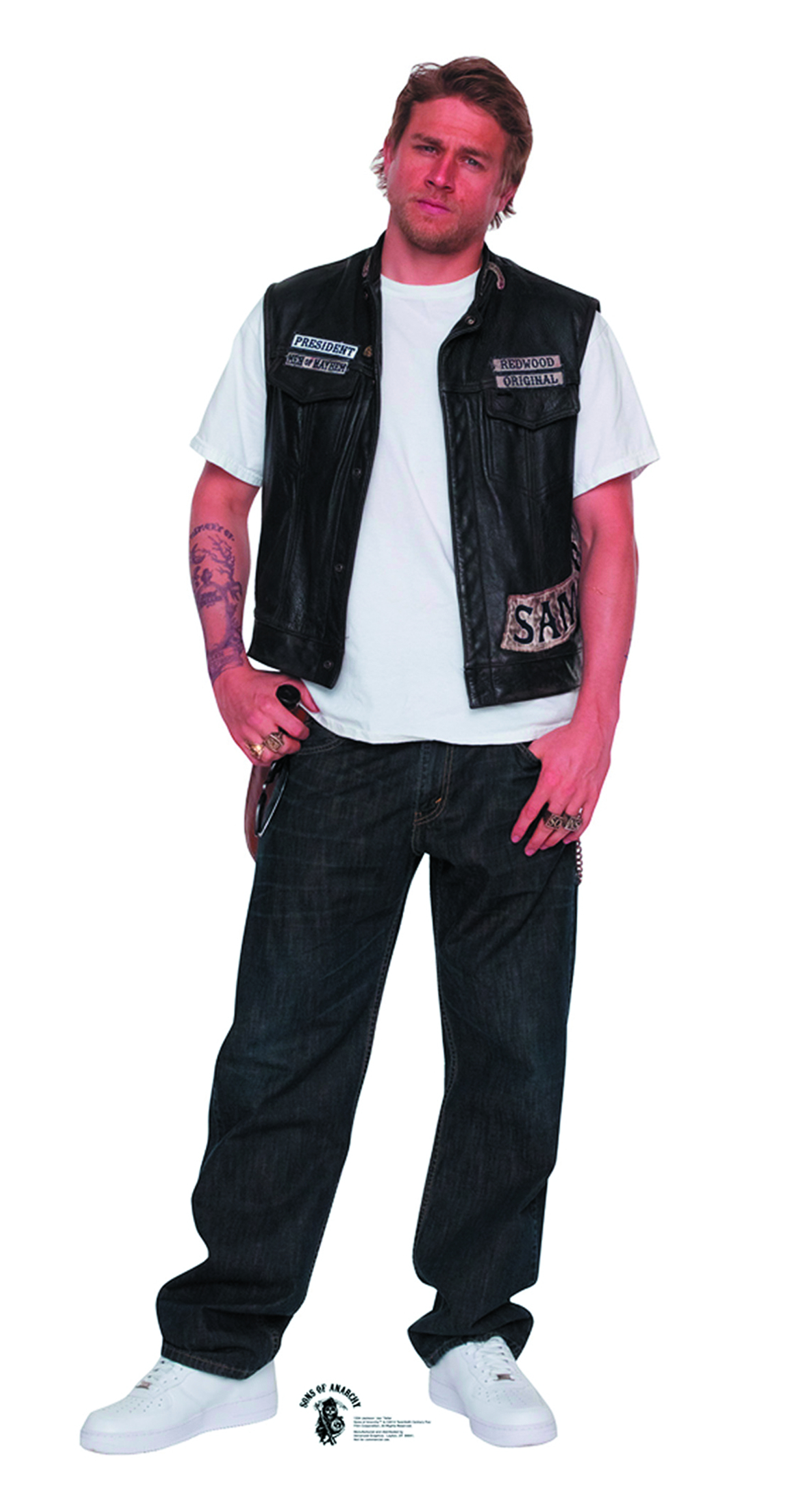 SONS OF ANARCHY JAX TELLER LIFE-SIZE STANDUP