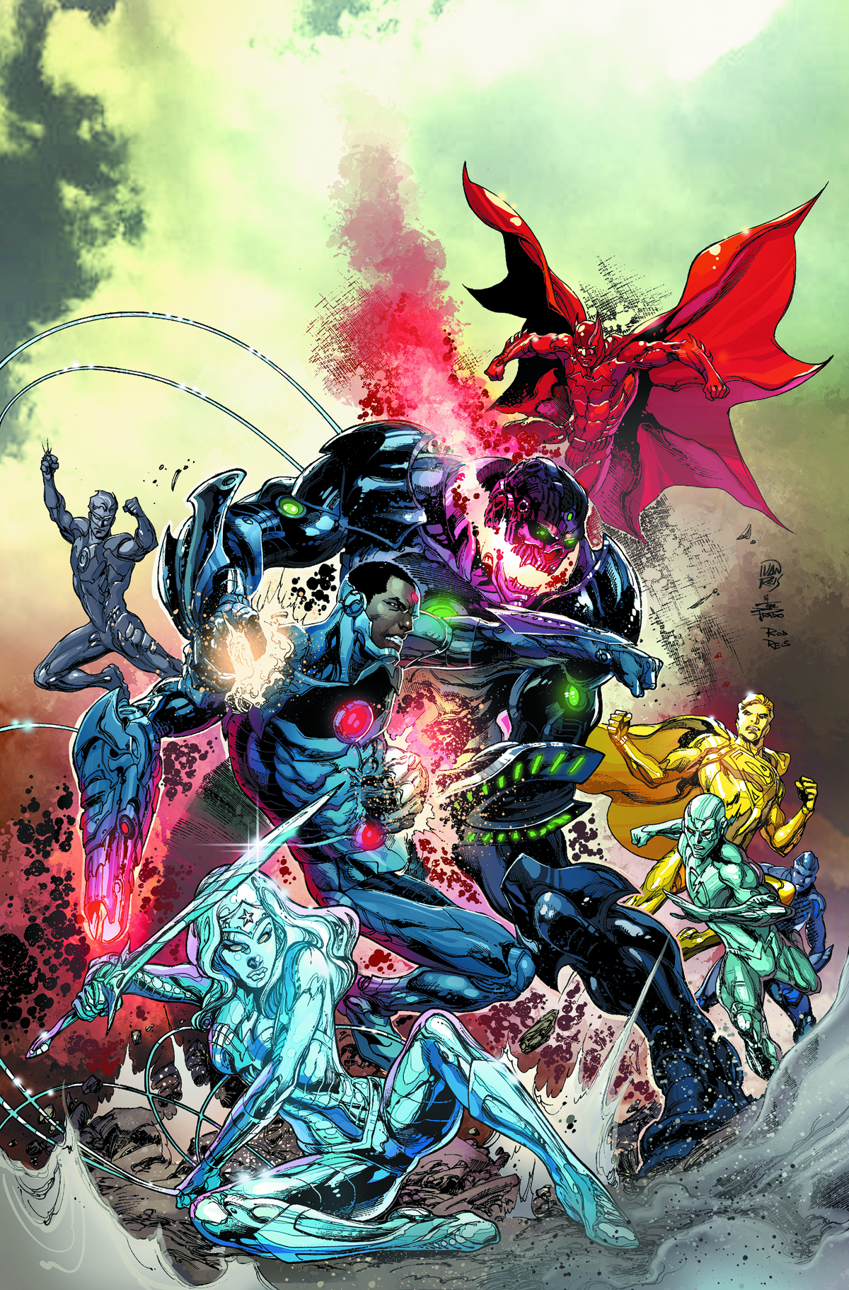 JUSTICE LEAGUE #29 VAR ED (EVIL)