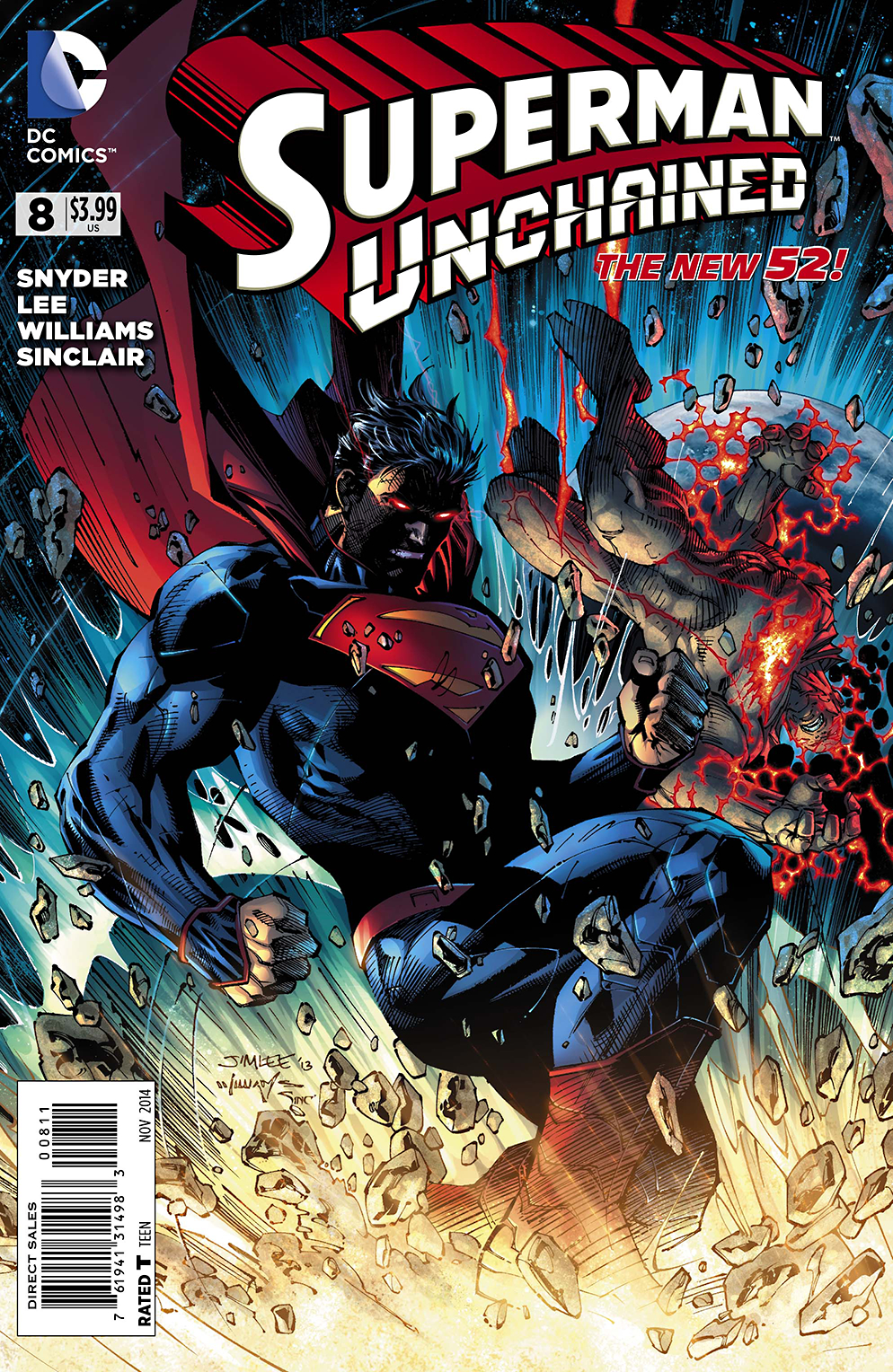 SUPERMAN UNCHAINED #8 (RES)