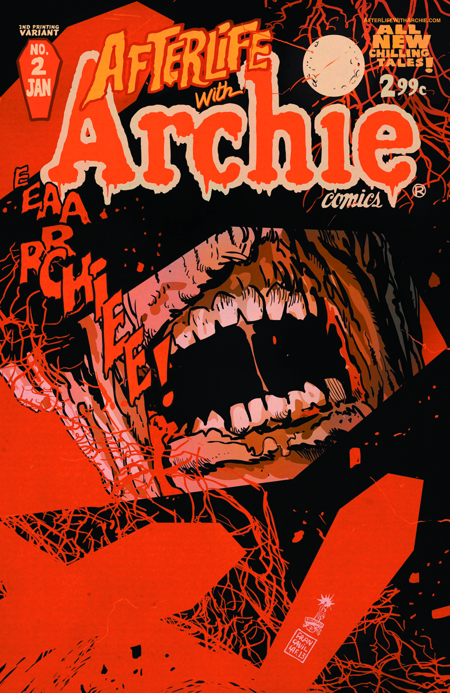 AFTERLIFE WITH ARCHIE #2 2ND PTG