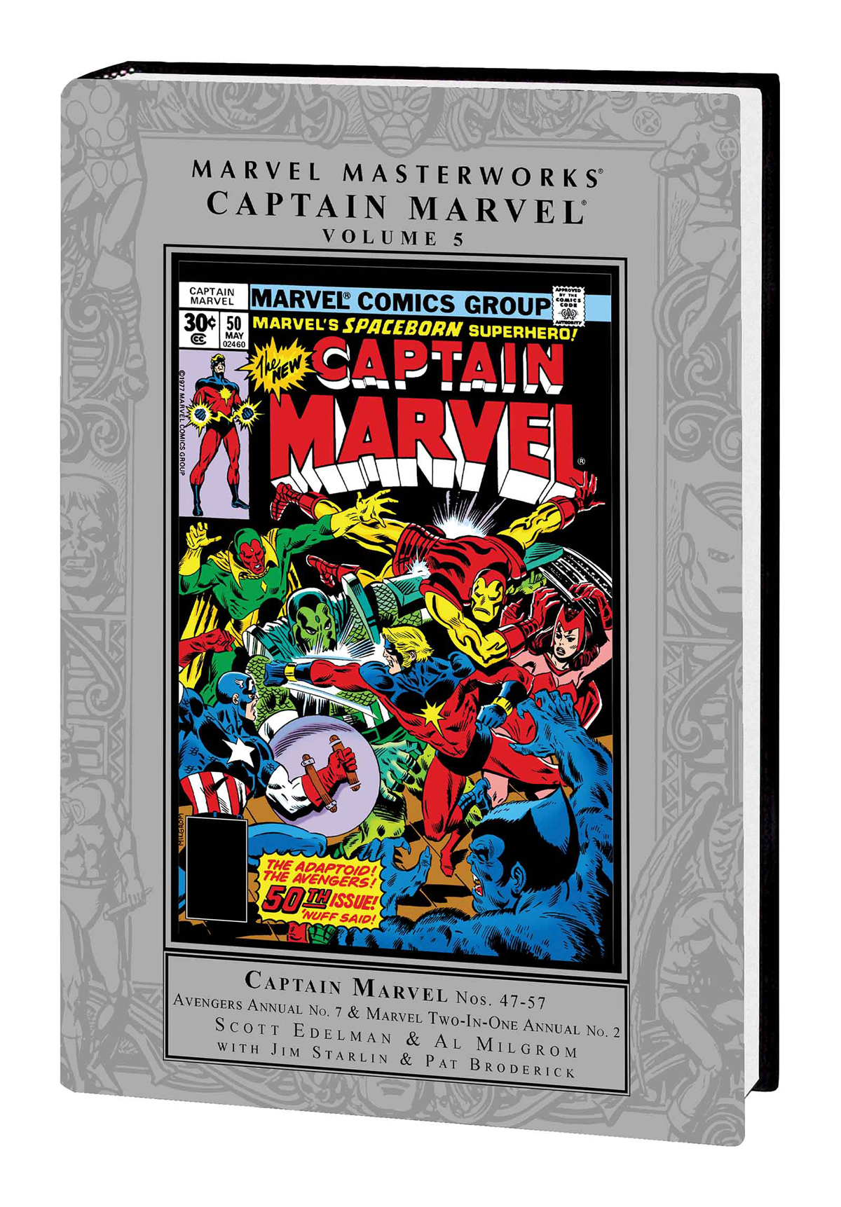 MMW CAPTAIN MARVEL HC VOL 05